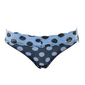 블루블랙 도트 삼각팬티