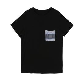레이온슬럽 주머니포인트 반팔티셔츠