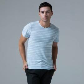 민트블루 반팔 티셔츠(~110size)