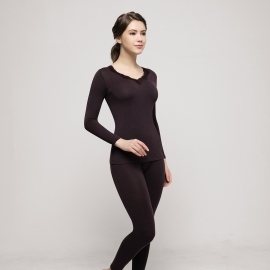 여성 쏠라터치 발열 히트엔진 동내의세트 90~105size