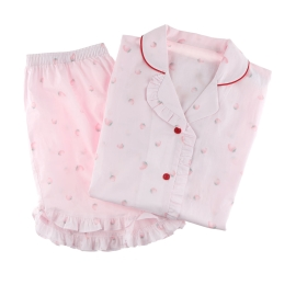 러블리 딸기 여파자마 세트