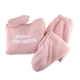 핑크포근 여파자마 (수면 / 보아털원단)