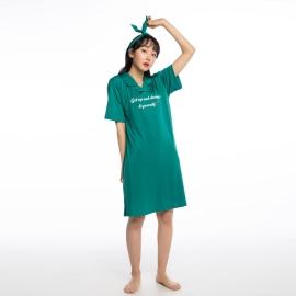 YES 레트로그린 여성 원피스(헤어밴드포함)
