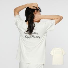 데일리 캐주얼 홈웨어 티셔츠_KEEP(여성용/FREE)
