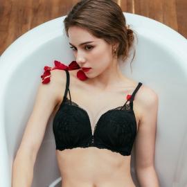 발렌타인 섹시 볼륨브라(블랙)